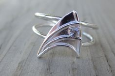 ENGAGE! with Star Trek-Inspired Ring...@Stephanie Close Carrell...Should I find you one of these ;p