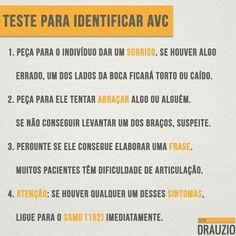 Teste para identifica AVC