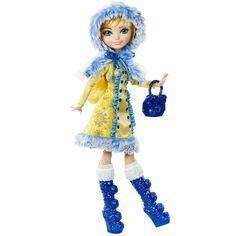 Boneca Fashion - Ever After High - Feitiço de Inverno - Blondie Lockes - Mattel - PBKIDS