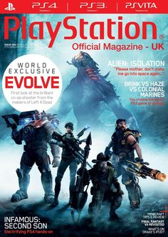 "Official #PlayStation Magazine 94. Alien: isolation ""Please mother, don't make me go into space again…"", brink vs haze vs colonial marines - You choose the worst PS3 game of all time! And much more..."