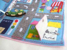 Drive Around Town details Fieltrunguis: Recent crafts! : D