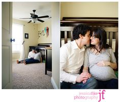 maternity in the nursery...wishing I had done photos like these
