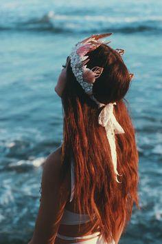 Sichelförmige Mermaid Krone
