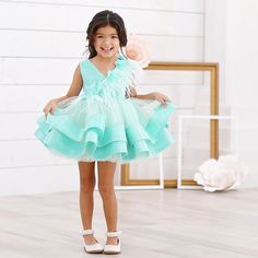 One of our favorites (sounds so bad to say since we make them all )! The Tiffany Dress   Perfect for bdays, Easter, spring and summer!  In stock and ready to ship  ittybittytoes.comittybittytoes