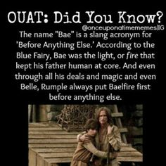 Although Belle proved that he always put power before anything else