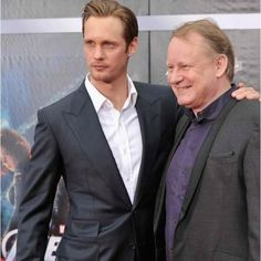 Alexander and Stellan Skarsgard (son and father) both amazing actors worth watching :-)