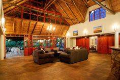 Located in Hogsback on the Eastern Cape of South Africa, this thatched-roof hotel offers rooms or self-catering cottages surrounded by native forest. Best Holiday Destinations, London Airports, Self Catering Cottages, Bright Rooms, Thatched Roof, 3 Bedroom House, Comfy Bed, Mountain View, Hotel Offers