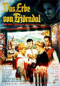 Poster zum Film: Das Erbe von Björndal - Und ewig singen die Wälder 2. Teil. 1960