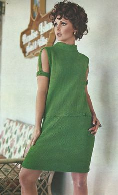 Instant Download Mod 1960s Knitting Pattern by TannaGail on Etsy, $2.50