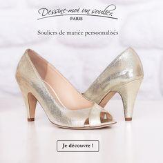 35 meilleures images du tableau Nos chaussures de mariées  8LJMP