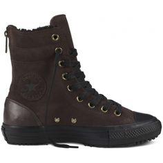 Converse - Chuck Taylor All Star Hi-Rise Rubber Boot - Black - Hi Top  waterproof | ☠My style☠ | Pinterest | Converse chuck taylor, Converse chuck  and ...