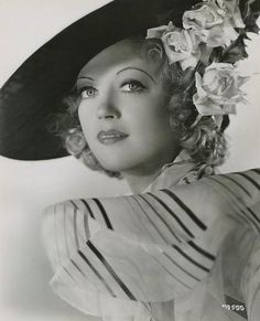 Marion Davies (1897 - 1961) Actress prominent during the silent era and early talkies, she was also known for her long relationship with newspaper publisher William Randolph Hearst