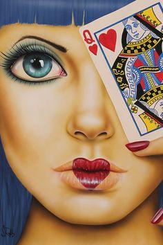 Queen Of Hearts by Scott Rohlfs