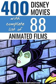 Watch every single Disney film ever made! Use these complete Disney movies lists and check them off as you watch them all. Disney movies are the best films ever made! Every Disney Movie, All Disney Movies, Disney Animated Movies, Romance Movies Best, The Best Films, Family Movie Night, Family Movies, Animation Film, Disney Animation