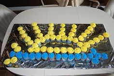 Great idea for an Arrow of Light Ceremony. Uses about 60 cupcakes, so maybe do mini-cupcakes for our pack?
