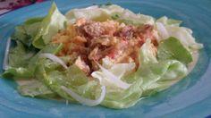 Ovos Mexidos com Broa e Pimentão - Coma com uma boa salada. http://grafe-e-faca.com/pt/receitas/ovos/ovos-mexidos-com-broa-e-pimentao-1a-versao/
