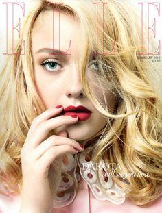 Dakota Fanning Elle UK February 2012
