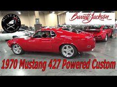 1970 Mustang Custom 427 powered Lot #790 Barrett-Jackson Las Vegas 2017 ...
