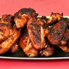 Oven Baked Chicken Wings- In the oven now, we shall see!