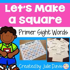 Dolch Primer Sight Words Do you need a fun early finisher or literacy center partner game to help teach and review letter recognition and the alphabet? Look no further! Your kids will love playing these fun and engaging games!  These are great partner games for early finishers or even for literacy centers. Students will take turns drawing one line at a time to connect two dots side by side, either vertical or horizontal. When one student completes a square around a sight word,