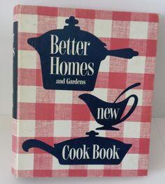 1953 Vintage Better Homes & Gardens  5 Ring Binder Cookbook 1st ed 9th Printing