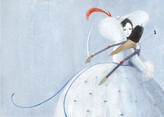 """""""The Nutcracker and the Mouse King"""" illustration by Maria Mikhalskaya."""