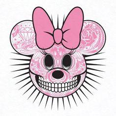 Minnie skull