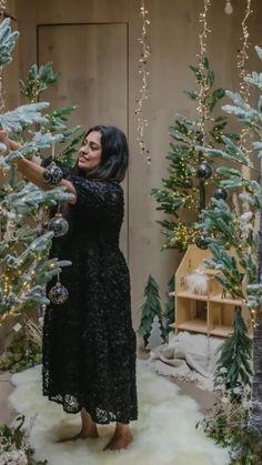 Alternative christmas tree from @coxandcox Hygge Christmas, Christmas Gifts, Christmas Decorations, Winter Wonderland Party, Alternative Christmas Tree, Life Inspiration, Goth, House Design, Interior