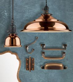 Hues to Use: Copper decor, Copper Decoration and Jadite Pitcher | Rejuvenation