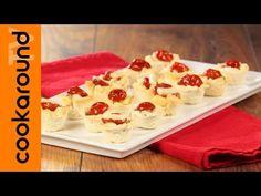 Cestini di pane con pomodoro e formaggio - YouTube