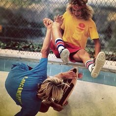 """They started everything! Thank you Jay Adams and Tony Alva."" Owen Nieder - Photo: Warren Bolster"