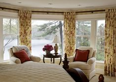 Traditional Bedroom Photos Master Bedroom Design, Pictures, Remodel, Decor and Ideas - page 8 Kids Curtains, Drapes Curtains, Bedroom Curtains, Drapery Panels, Bedroom Windows, Window Panels, Cozy Bedroom, Bedroom Decor, Bedroom Ideas
