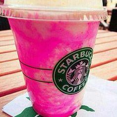 Pink Starbucks drink