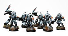 Tau Sa'Cea Stealth Suits Kill Team