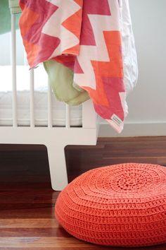 Chevron blanket- nice colors