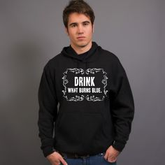 Drink What Burns Blue Black Sportage 3950 Marshall Kangaroo Hoodie Front - Moonshine Hoodies,Funny Drinking Hoodies,Alcohol Hoodies,Alcohol Clothing,Funny Drinking Quotes,Funny Drinking Memes,Embroidery Hoodies,Typographic Hoodies,Graphic Hoodies,Alco Tops,Drunk,High-Proof,Marvin Popcorn Sutton,Moonshiners,White Whiskey,Mountain Dew,Hooch,Liquor,Ole Smoky,Everclear,Cheers,Skål,Prost,Proost,Tchin,Santé,Cin Cin,Salute,Na Zdrowie,Fire In The Hole,Shirts,Sweatshirts
