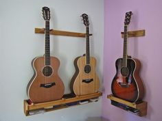 Handcrafted Wooden Guitar Stand From ALLWOOD STANDS Display Up To