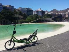Probando el ElliptiGO en S/C de Tenerife. (11/05/2014). ¡¡ Maraviloso día !!