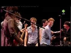 Bruce Springsteen - Hungry Heart [with Mumford and Sons]  @Jessica Lan festival 28-5-2012 the Netherlands