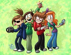 I want to do a twin day with my friends and I want us to dress up as everyone in eddsworld. Vote yes or no.