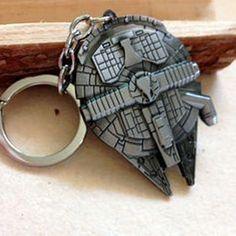 Star wars Spaceship logo keychain