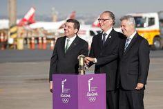 Chama Olímpica chegou ao Brasil