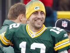 Aaron Rodgers QB...definitely easy on the eyes...and one of the best QB's!! :D