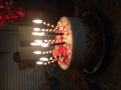 :) Happy Birthday Chocolate Cake, Happy Birthday Cake Images, Happy Birthday Love, Birthday Chocolates, Beautiful Birthday Cakes, 17th Birthday Gifts, Birthday Celebration, Foto Snap, Birthday Cake Video
