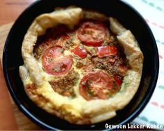Mini quiche uit de airfryer