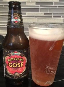 Meh.  Not bad, but I don't need to try it again.  Hibiscus Gose by Boulevard Brewing company
