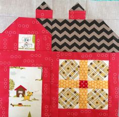 dream quilt create: The Quilty Barn Along #9