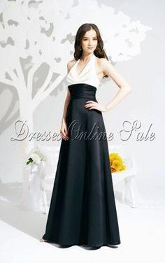 Multi Colours Sheath Halter Floor-length Dress
