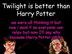Read this crap Potterheads and laugh! It is beyond stupid! XD