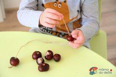 Tipy na výrobky z kaštanů s malými dětmi | Mamadodeste.cz Cherry, Fruit, Food, Essen, Meals, Prunus, Yemek, Eten